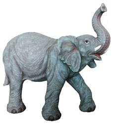 "Heavens Majesty Elephant, 37"" Tall (for 27"" Scale Nativity) elephant, outdoor elephant, outdoor decor, yard decor, christmas gift, christmas decor, 53383, heavens majesty, 53384, 53374"