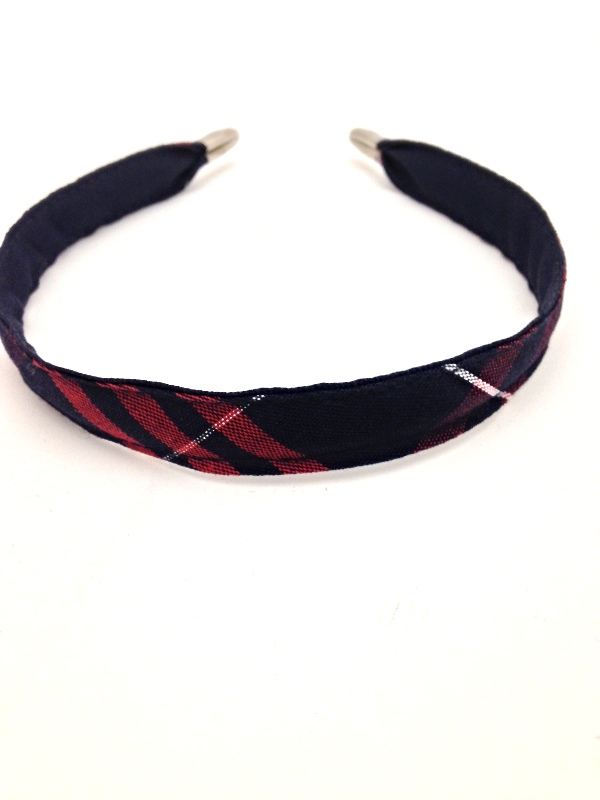 Regular Headband, Plaid #37