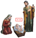 "39"" Large Scale Fiberglass Nativity Set with Stable **FREE SHIPPING** - 110728"
