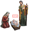 "39"" Scale Holy Family 3 Piece Set"