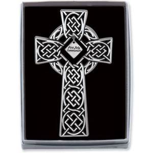 "4.5""H First Holy Communion Celtic Cross"