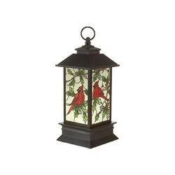 "4.75"" Lighted Cardinal Mini Lantern"