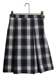 #49 Box Pleat Uniform Skirt