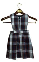 #49 Split Bib Uniform Jumper with Box Pleat Skirt *WHILE SUPPLIES LAST*