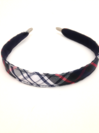 Regular Headband, Plaid #49
