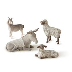 4pc Animal Set for the Willow Tree Nativity