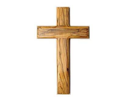 "5 1/2"" Olive Wood Wall Cross"