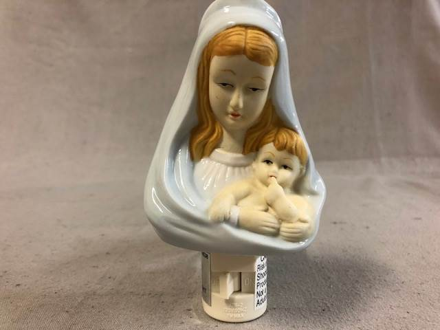 "5.5"" Madonna & Child Night Light 