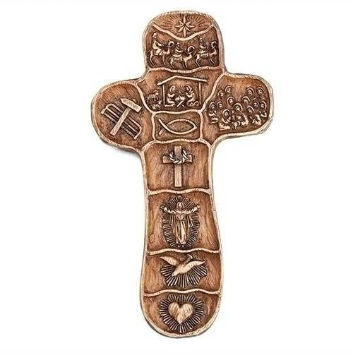Christ's Story Palm Cross