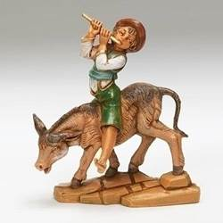 "5"" Fontanini Dominic, Boy with Donkey *New for 2019*"