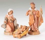 "5"" Fontanini Holy Family Figures"
