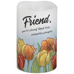 "5"" Friend Flicker LED Candle"
