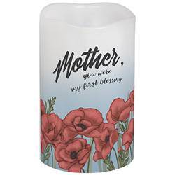 "5"" Mother Flicker LED Candle"