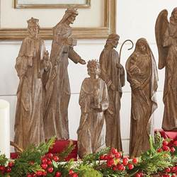 "5 Piece Nativity Figure Set, 16"" tall"