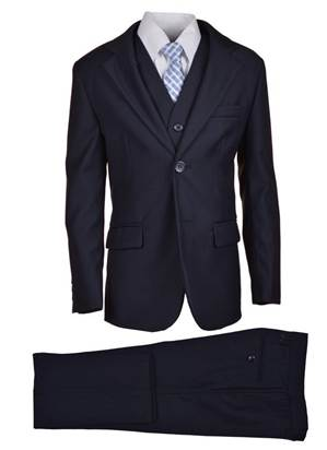 Navy Suit Set