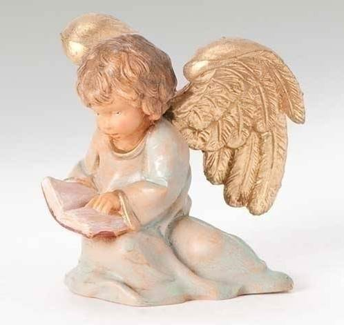 "5"" Scale Fontanini The Littlest Angel Figure"