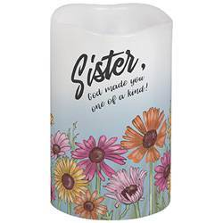 "5"" Sister Flicker LED Candle"
