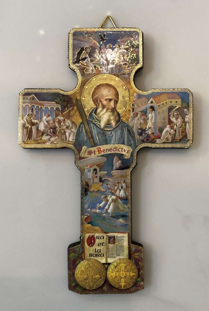 "5"" St .Benedict Icon Cross"