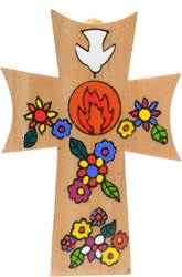 "5"" Wooden Confirmation Cross From El Salvador"