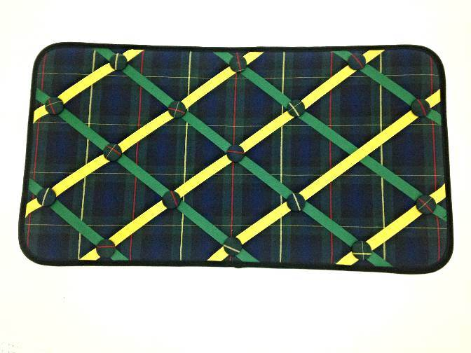 Memory Board/Note or Photo Holder, #55 Plaid