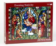 550 Piece Nativity Jigsaw Puzzle