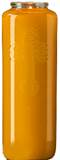 6 Day Amber Bottlelight Glass Candle, Case of 12