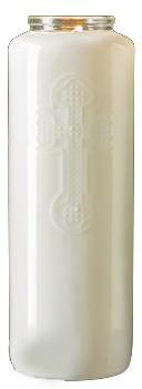 6 Day Opal Bottlelight Glass Candle, Case of 12