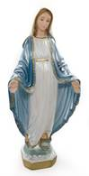 "5.5"" Our Lady of Grace Statue Pearlized, from Italy"