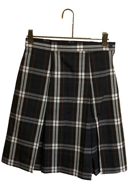 #60 Box Pleat Uniform Skirt