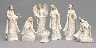 "7 1/2"" Nativity Set"
