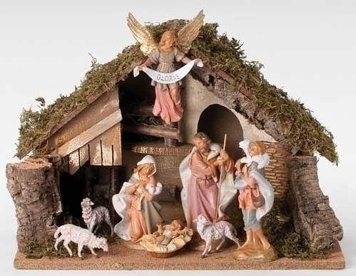 "7.5"" Fontanini Nativity Set"