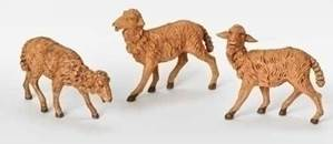 "7 .5"" Fontanini Sheep Set"