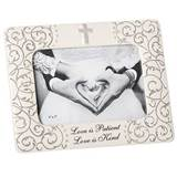 "7.75"" Mr & Mrs Scroll Wedding Frame"