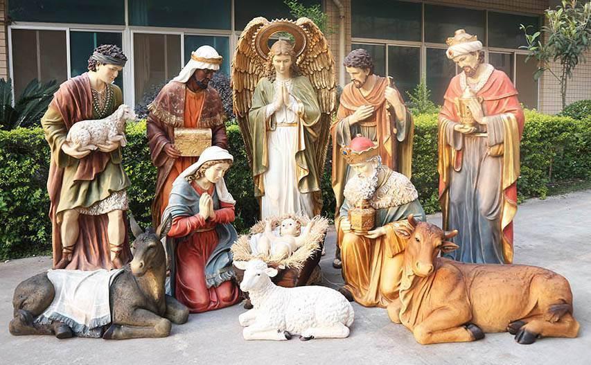 Life Size 6' Nativity Set