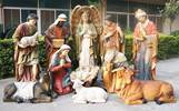Life Size 6 Nativity Set