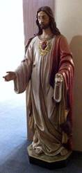 "75"" Sacred Heart of Jesus Statue"