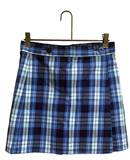 #76 Poly/Cotton Wrap Front Skort st simons plaid, st simons jumper, st simons skort, st simons skirt, rr plaid, dennis rr plaid, rr, queen of all saints plaid, #76 plaid