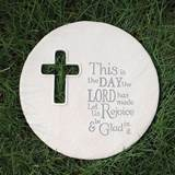 "8.75"" This Is The Day Garden Stone or Plaque"