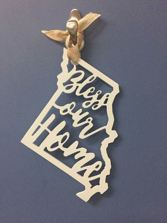 Missouri Doorhanger Ornament
