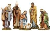 "8"" Nativity Set *WHILE SUPPLIES LAST* nativity set, indoor set, table top nativity set, full color nativity, christmas gift, wedding gift, home decor, 5 piece set, joseph studio,  36343"