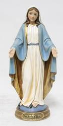 "8"" Our Lady of Grace Statue, Heavens Majesty"