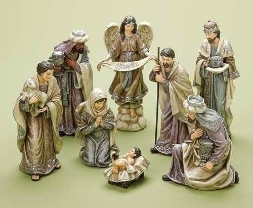 "8"" Scale Nativity Set  *WHILE SUPPLIES LAST*"