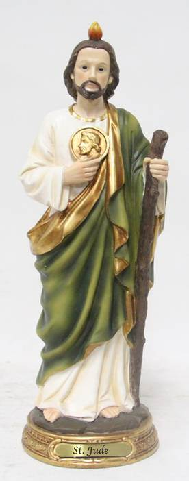 "8"" St. Jude Statue, Heavens Majesty"