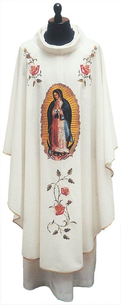 859E Our Lady Of Guad. Chasuble