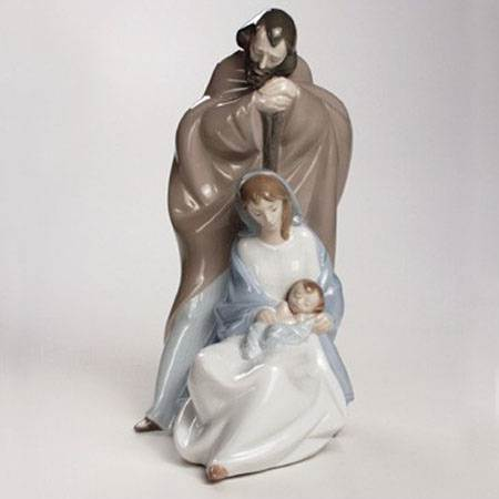 A Child is Born Statue holy family figurine, holy family, holy family figurine, home decor, christmas decor, nativity decor, christmas gift,02001439, lladro nao