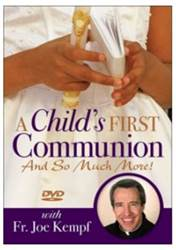 Dvd A Childs First Communion: And So Much More! Joe Kempf