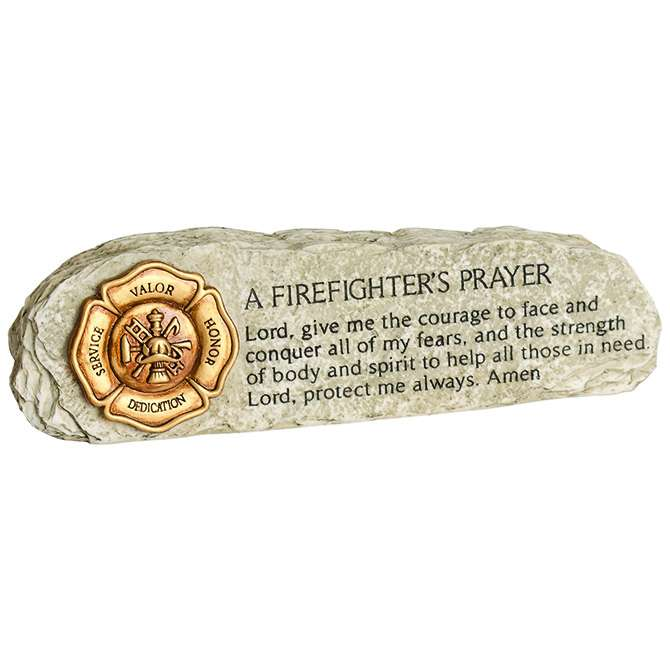 A Firefighter's Prayer Message Bar