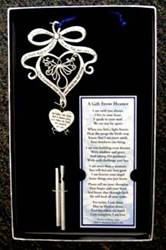 A Gift From Heaven Memorial Wind Chime and Bookmark