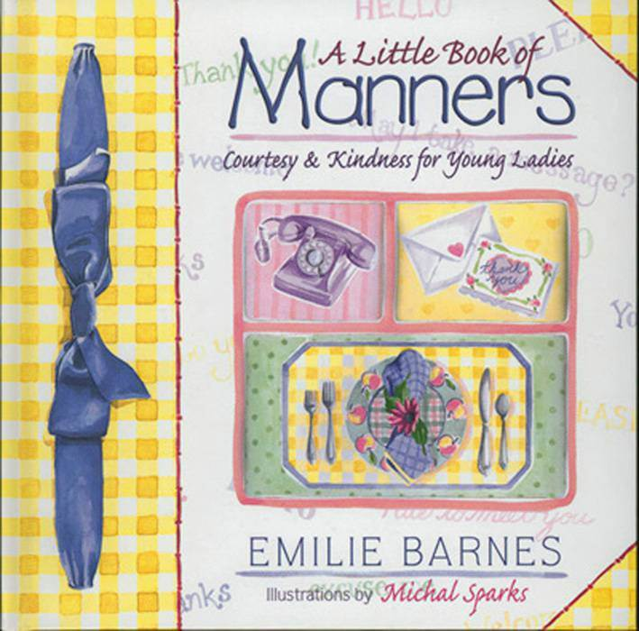 A Little Book of Manners  // Hc By Emilie Barnes 978-1-56507-678-5, childrens book, manners, boy gift, girl gift, baby gift, kids book,