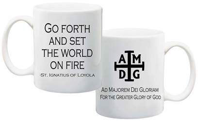 AMDG For the Greater Glory of God Mug